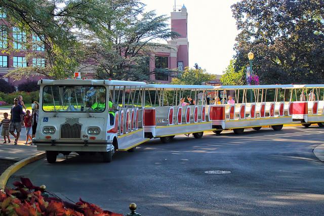 Parking tram 1
